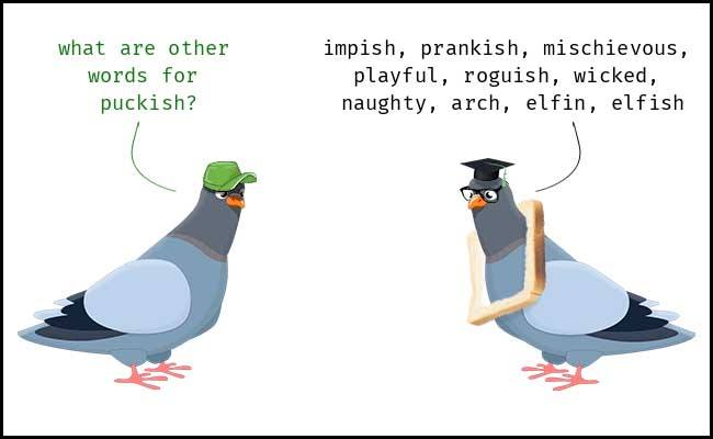 Learn Puckish Meaning Etymology and Synonyms