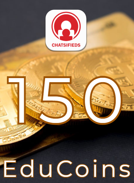 150 EduCoins Giftcard coupon and voucher Chatsifieds