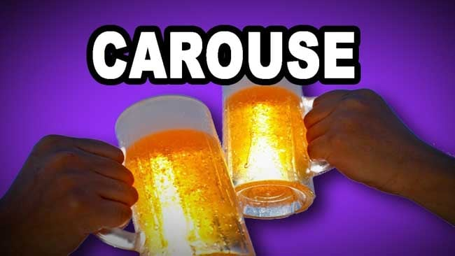 CAROUSE Meaning, CAROUSE Etymology, CAROUSE Synonyms and Antonyms usage Chatsifieds