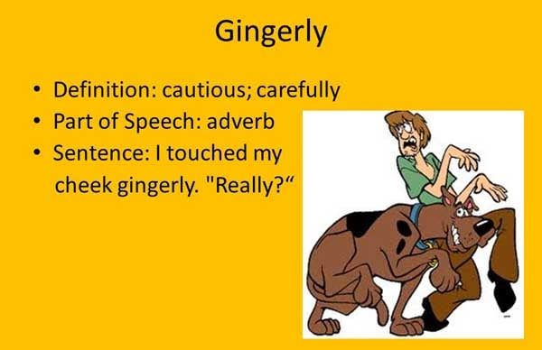 Gingerly Meaning Gingerly Etymology Gingerly Synonyms grammar rules Chatsifieds