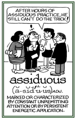 ASSIDUOUS definition and meaning grammar usage Chatsifieds
